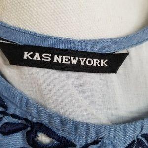 Anthropologie Dresses - KAS New York Anthropologie Shift Dress Cutout Sm